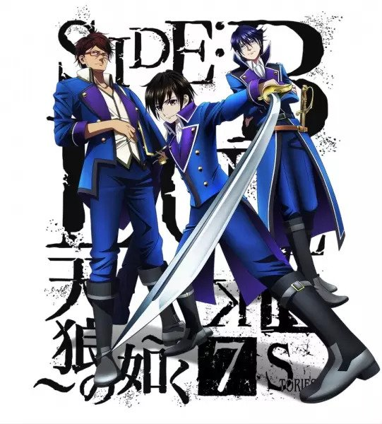 K: Seven Stories Movie 2 – Side:Blue – Tenrou no Gotoku
